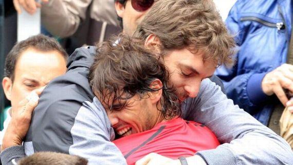 Nadal y Gasol recaudan más de 14 millones de euros para víctimas del coronavirus