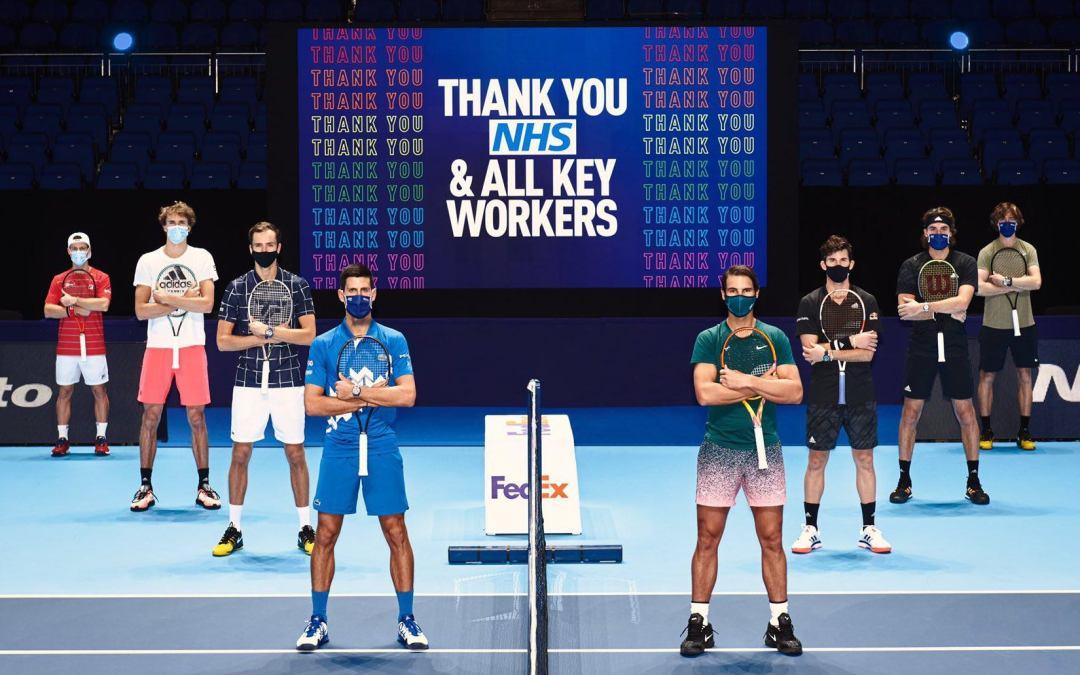 Grupos Completos de lasNitto ATP Finals 2020