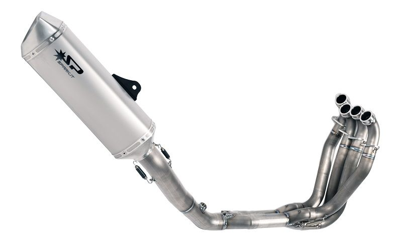spark force complete exhaust system s steel collector zx 10r 11