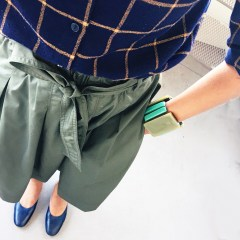10 Reasons to Love Uniqlo High Waist Midi Skirt