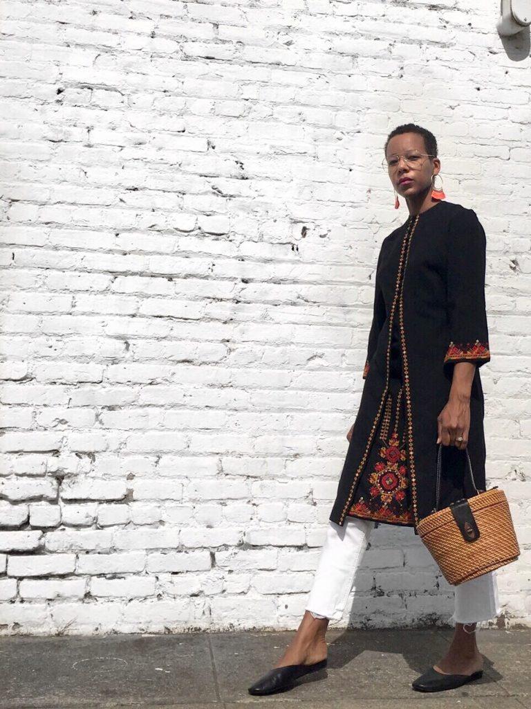 moroccan inspired dress nehru jacket