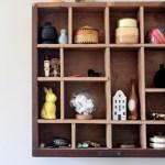 Prieš ir Po. Kaip seną stalčių paversti stilinga lentyna?