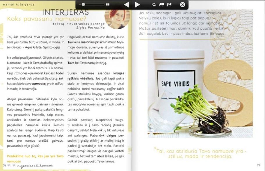 VAI VAI Magazine-pavasaris