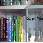 Kur laikyti kulinarines knygas? Knygos virtuvėje