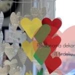 Pakabinama dekoracija virš stalo Vasario 16 – ąjai