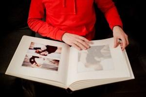kaip suklijuoti nuotraukas į albumą