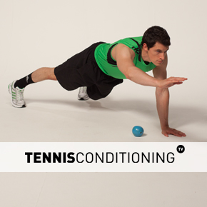 Push Up to Single Limb Raise