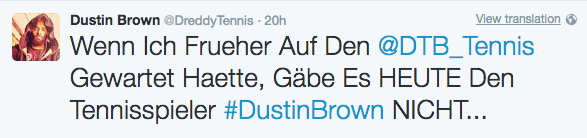 Dustin Brown Tweets
