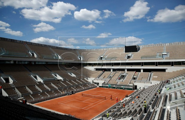 General view of the new Central court at Roland Garros in Paris, France, 16 May 2019. The French Open tennis tournament at Roland Garros in Paris will run from 26 May to 09 June 2019. EPA-EFE/YOAN VALAT