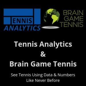 Tennis Analytics and Brain Game Tennis partnership