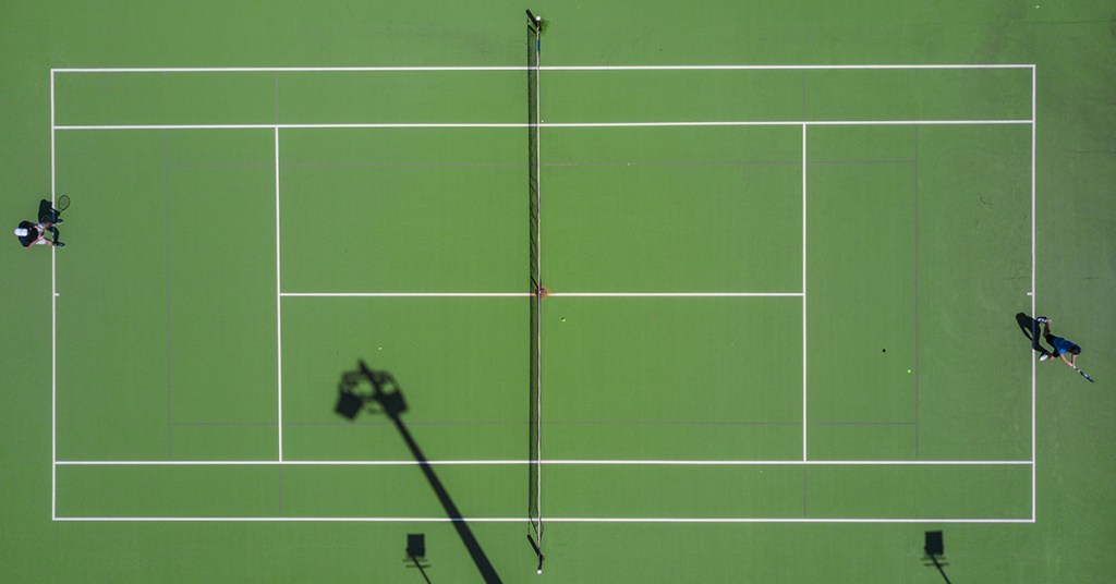 Tennis analytics help improve pre-match nerves