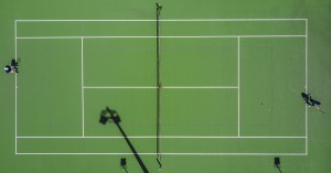 Tennis analytics help improve pre-match nerves