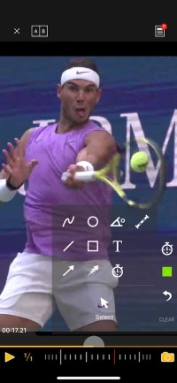 Nadal forehand technique analysis