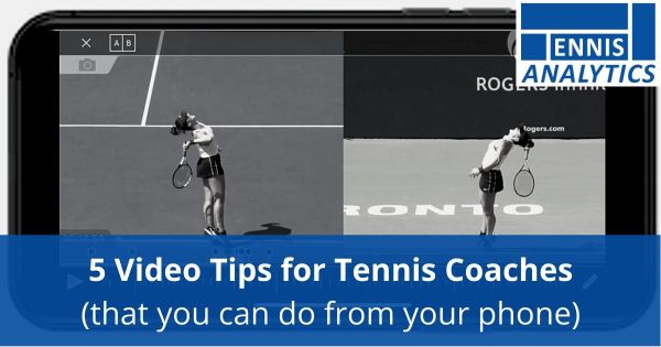 Video tips for tennis coaches