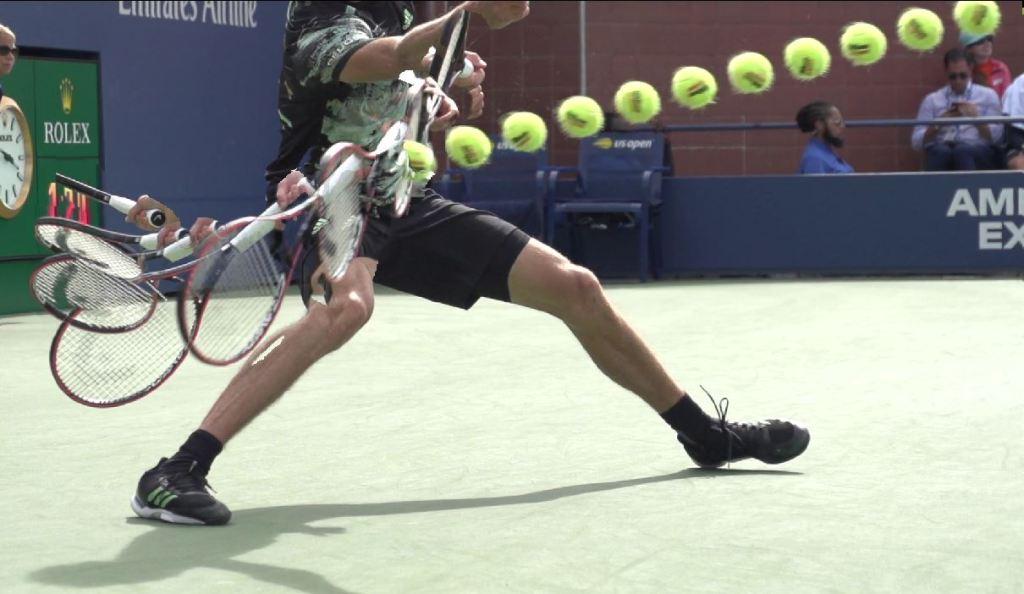 Alexander Zverev forehand