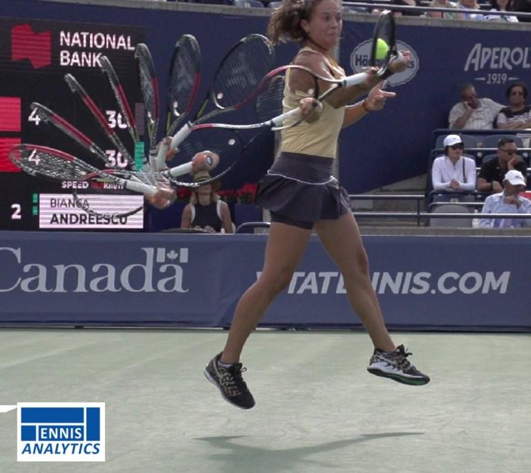Daria Kasatkina's forehand