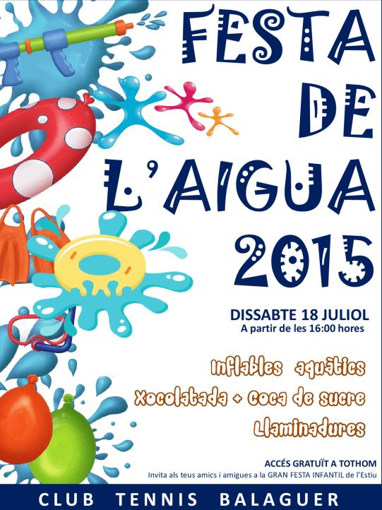 Festa de l'Aigua 2015