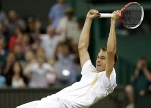 Lukas Rosol at Wimbledon 2012