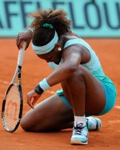 Serena Williams. The 2012 French Open