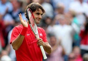 Roger Federer. London 2012