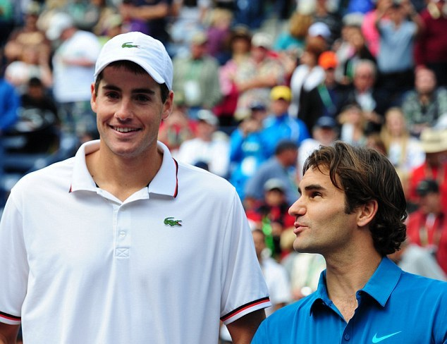 Isner and Federer 1 - Medical Considerations When Identifying Tennis Talent