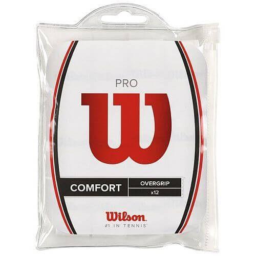 Wilson Pro Comfort Overgrip x12 Accessori Tennis - TennisCornerShop
