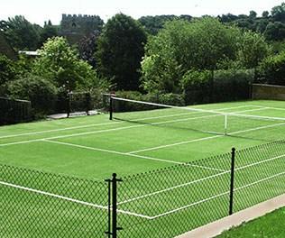 Tenniturf tennis court Capet by En Tout Cas