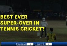 best super over in tennis cricket