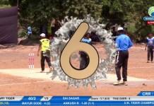 Nikhil Sorte 6 sixes in 6 ball