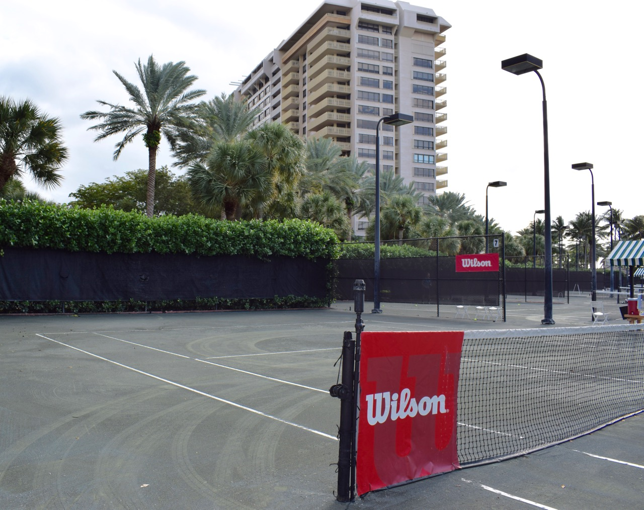 The Club at Grove Isle // Compete on These Cliff Drysdale Tennis Courts Lining Biscayne Bay