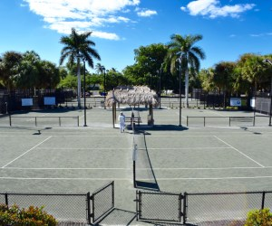 Arthur Allen Tennis Center // Net Play and Nightlife Near Downtown Naples