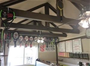 tennis gear, wilson, babolat racquets