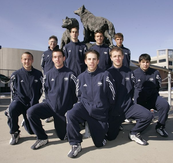 Randy Reynolds University of Nevada Tennis Team