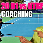 Tennis Singles Point Play + Live Coaching