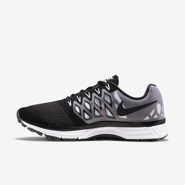 Nike Mens Zoom Vomero 9 Running Shoes - Black/White ...