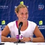 Dominika Cibulkova Posts First Win over Camila Giorgi to Claim Katowice Open