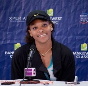 Serena Day 2 Press Conference