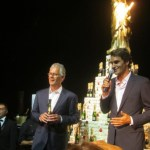 Roger Federer Joins Moet et Chandon for their 270th Anniversary Celebration