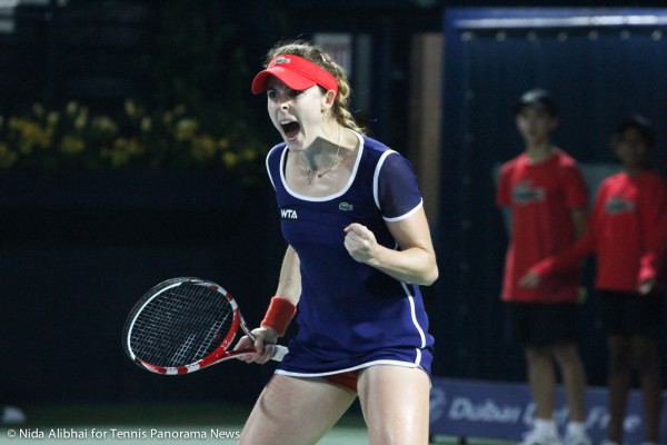 Cornet yell and fistpump