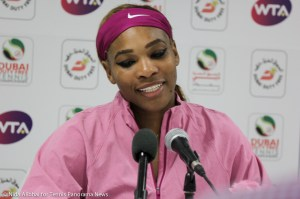 Serena in press