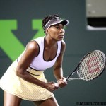 Confident Venus Williams Advances at Sony Open