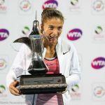 Sara Errani Routs Barbora Strycova to Win Dubai Title
