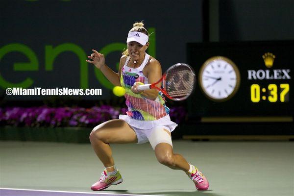 Angelique Kerber photo courtesy of MiamiTennisNews.com