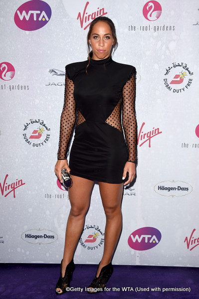 LONDON, ENGLAND - JUNE 23:  Madison Keys attends the annual WTA Pre-Wimbledon Party presented by Dubai Duty Free at the Kensington Roof Gardens on June 23, 2016 in London, England.  (Photo by Stuart C. Wilson/Getty Images for WTA Tour)