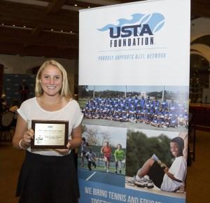 Chloe Henderson photo courtesy of USTA