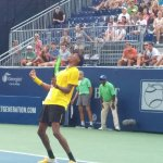 Eubanks Schools Fritz On College Night at the BB&T Open