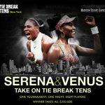 Serena and Venus Williams to Compete in Tie Break Tens at Madison Square Garden