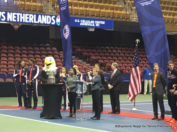 US Fed Cup Team Begins Title Defense with the Williams Sisters in North Carolina This Weekend Versus the Netherlands