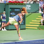 World No. 44 Naomi Osaka Routs No. 1 Simona Halep to Reach BNP Paribas Open Final