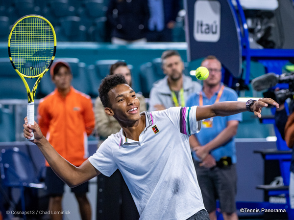 Felix Auger-Aliassime Becomes Youngest Miami Open Semi-finalist
